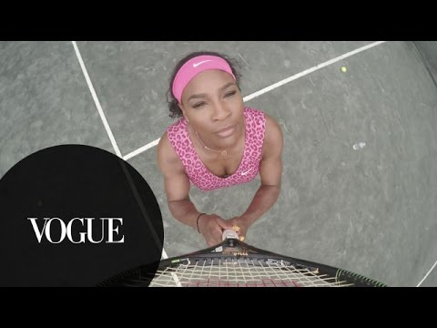 Tennis and Vogue!