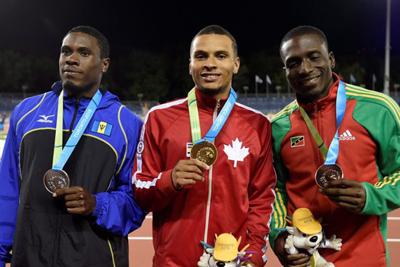 Antoine Adams Captures Bronze at 2015 PanAM Games in Toronto