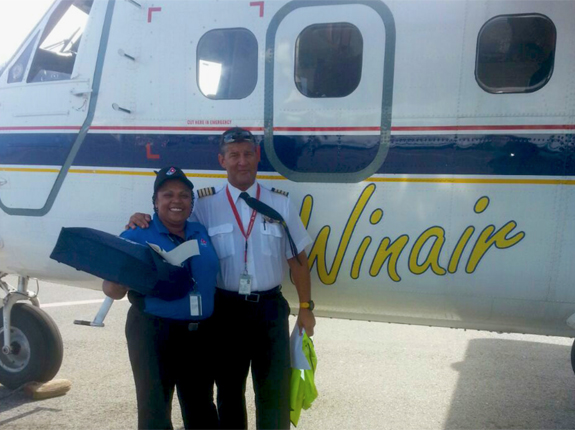 WINAIR Collaborates With Domino's To Launch Caribbean's First Airline Pizza Delivery