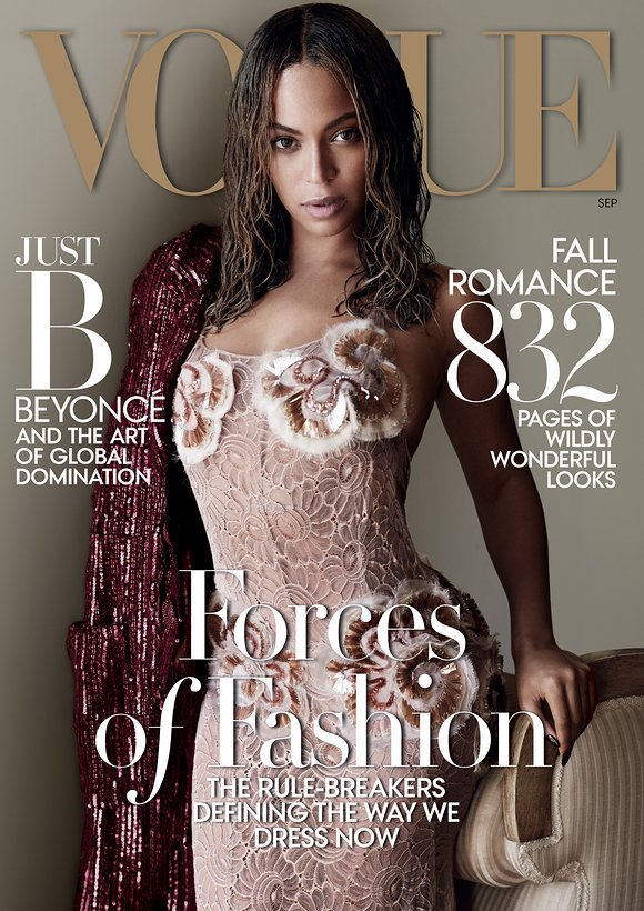 Beyoncé Slays Cover Of Vogue September 2015 Issue