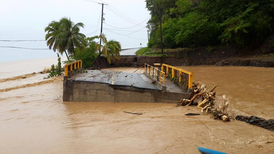 Tropical Storm Erika Causes Devastating Flooding In Dominica