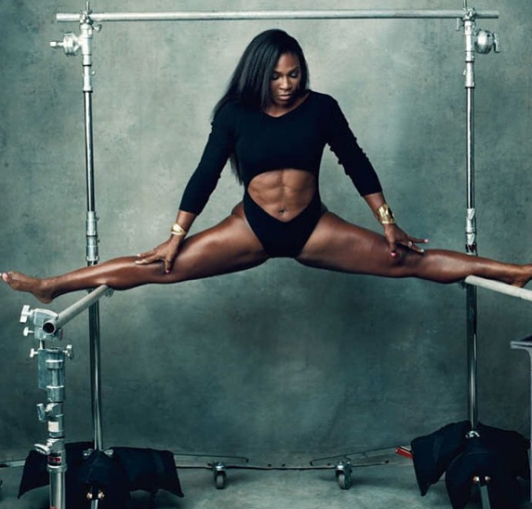 Goddess Serena Williams Busts It Wide Open In Sexy New York Magazine Shoot