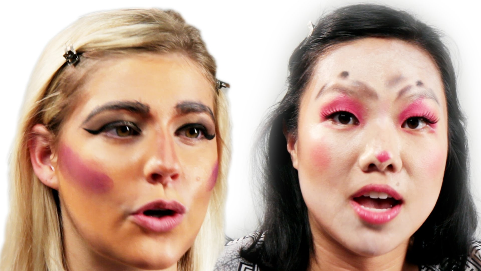 Woman Get Pranked With Terrible Makeovers