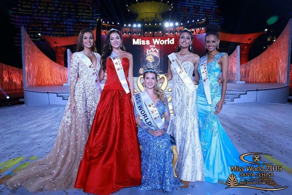 Miss Jamaica Places Top 5 at Miss World