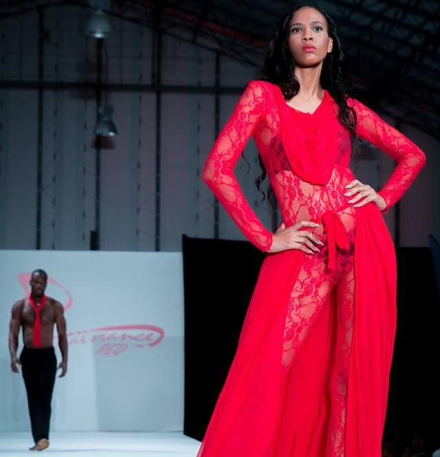 Renaissance Red Fashion Show