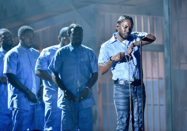 Kendrick Lamar's Ode to Black Power at the Grammy's