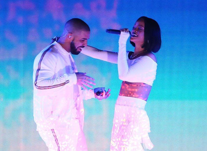 """Rihanna and Drake Perform """"Work"""" Live For The First Time At the BRIT Awards"""