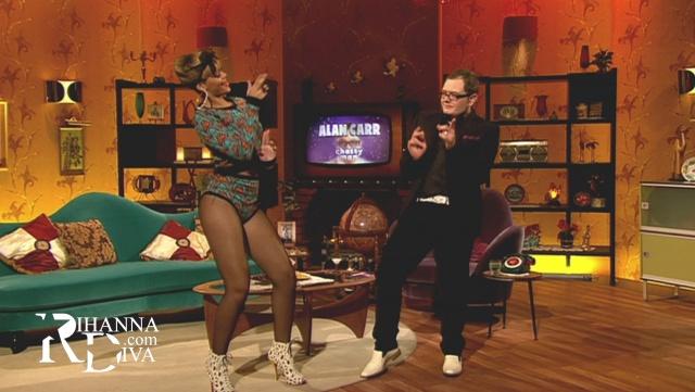 Dancehall moves with Bad Gal RiRi