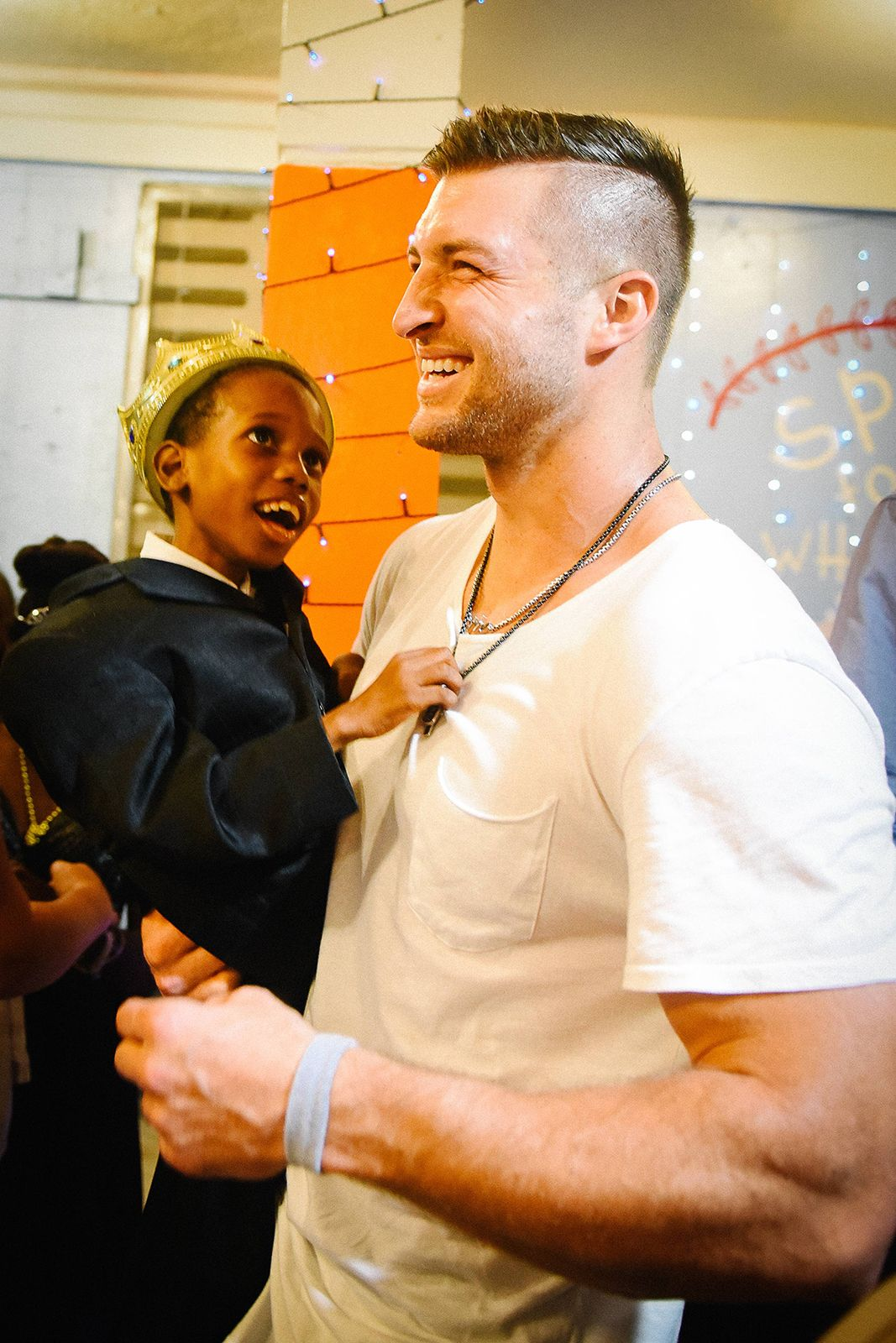 Tim Tebow Surprises Special Needs Children In Haiti With A Prom