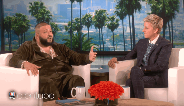 """DJ Khaled Finally Explains Who """"They"""" Are On The Ellen Show"""