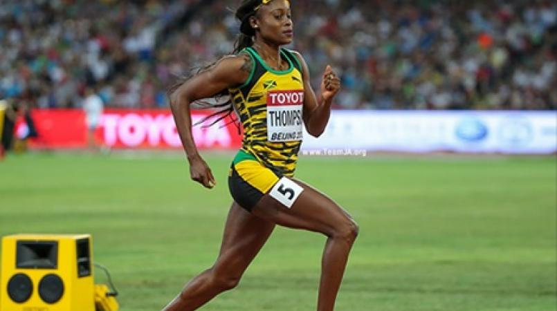 Jamaican Sprinter Elaine Thompson Takes Bronze at IAAF World Indoors Championships