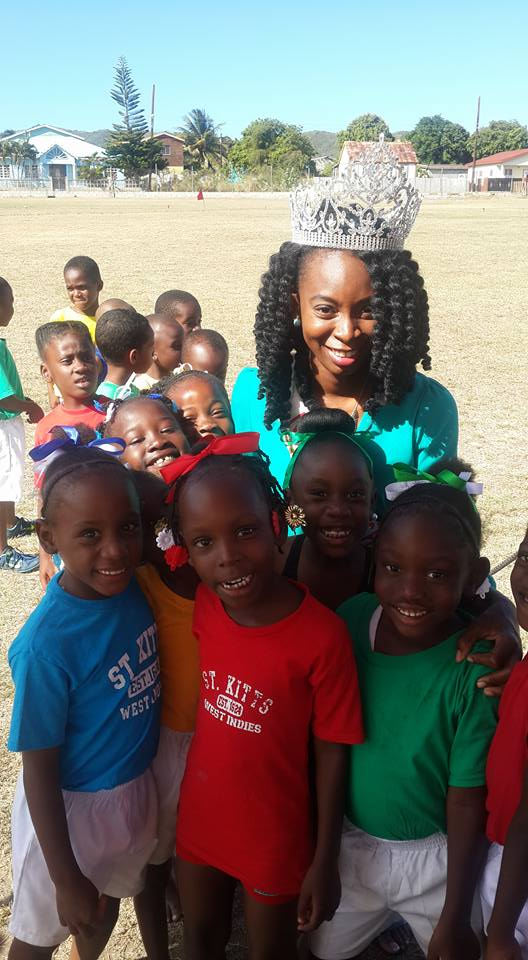 National Carnival Queen Orngel Erskine Gives Back To Her Alma Mater