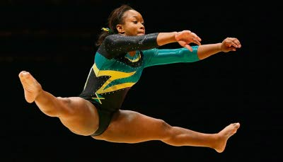 Gymnast Toni-Ann Williams makes historic Olympic Games Qualification To Represent Jamaica