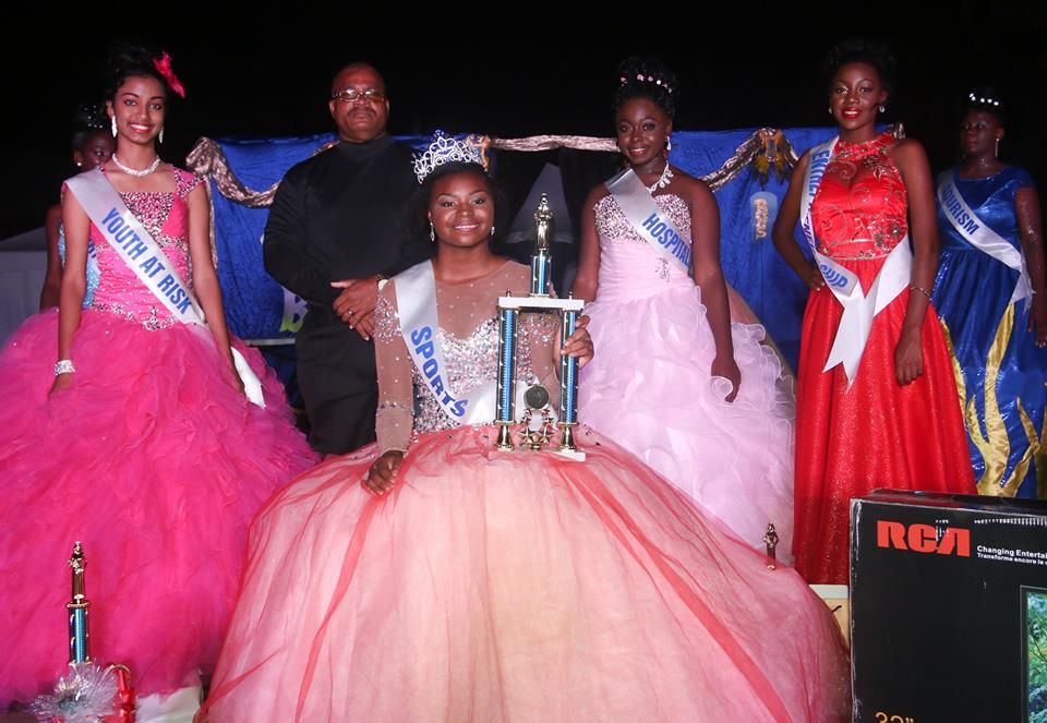 Abion Stevens Annahilates Competition And Captures The Crown To Beome Miss BHS 2016