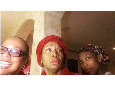 Brandy, Jenifer and Roz Are Certainly NOT Playing Out In These Streets