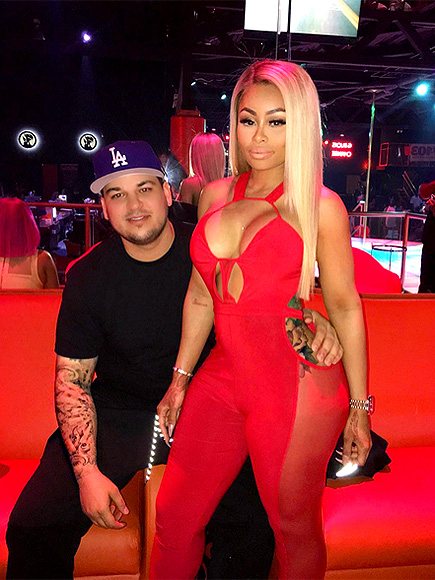Blac Chyna and Rob Kardashian Confirm Pregnancy Rumors