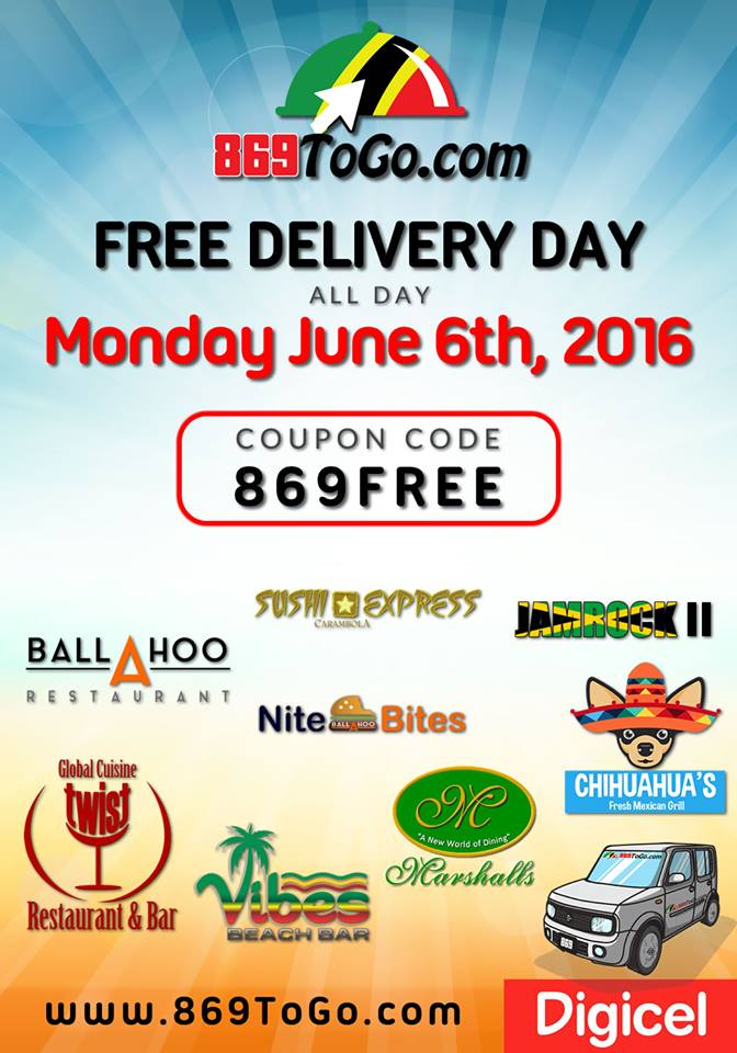 FREE DELIVERY MONDAY