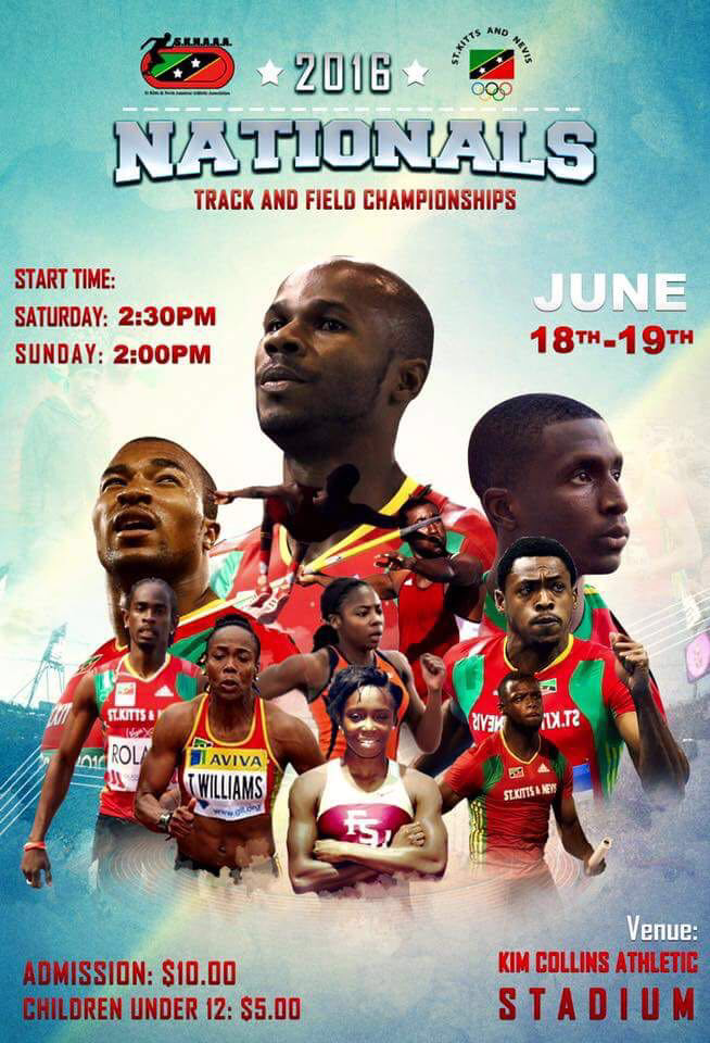 2016 National Track and Field Championships in St. Kitts