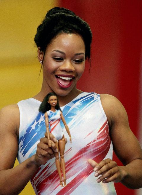 Gabby Douglas Gets Her Own Superhero Gymnast Barbie