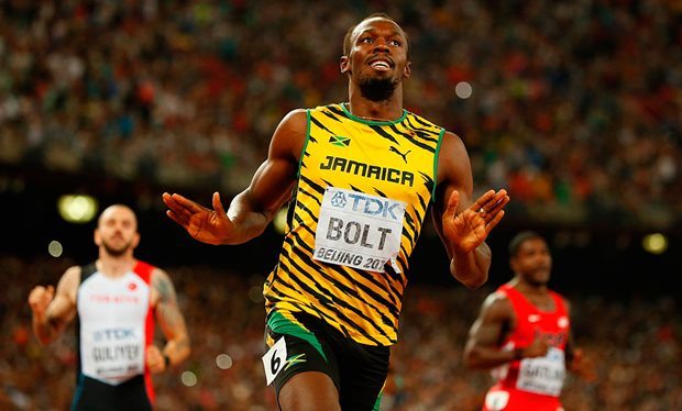 Caribbean Athletes stand tall in men's 100 meter event