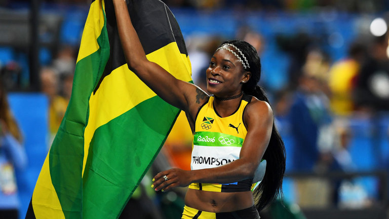 Jamaican Duo Shine; Elaine Thompson Excels