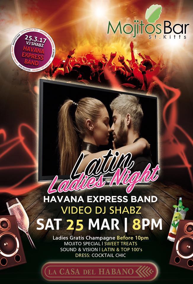 Latin Ladies Night is BACK!
